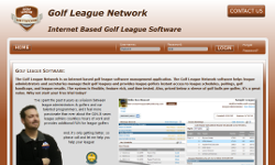 golf league network screenshot: click to enlarge